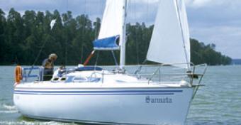 Test jachtu Pegaz 800 - Komfort na 8 metrach